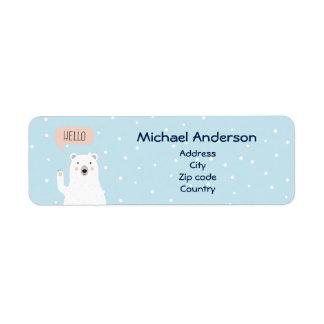 Cute Polar Bear Pesonailzed