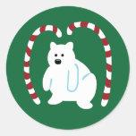 Cute Polar Bear Stickers