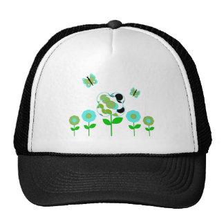 Cute Polka Dot Flowers Hat