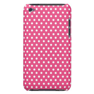 Cute Polka Dots | Hot Pink iPod Touch Cover