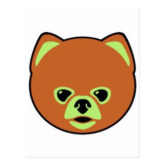 Cute Pomeranian Dog Postcard