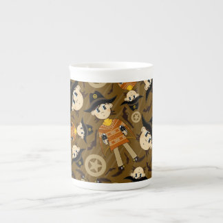 Cute Poncho Cowboy China Mug