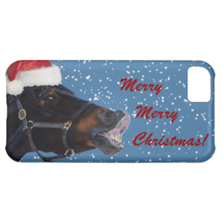 Cute Pony Christmas iPhone 5C Cover
