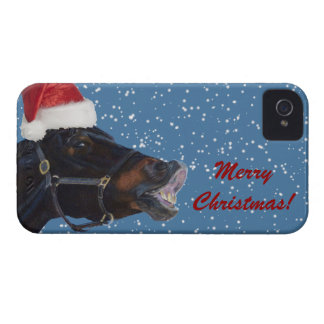 Cute Pony Christmas iPhone 4 Covers