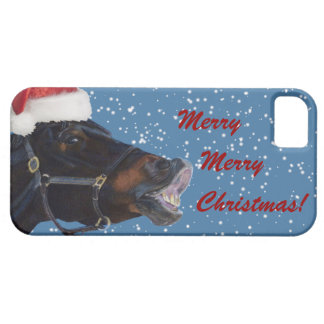 Cute Pony Christmas iPhone 5 Cover
