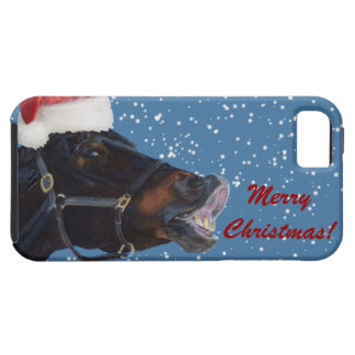 Cute Pony Christmas iPhone 5 Cases