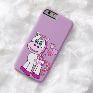 Cute pony,girly cover barely there iPhone 6 case