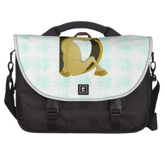 Cute Pony Monogram D Commuter Bag