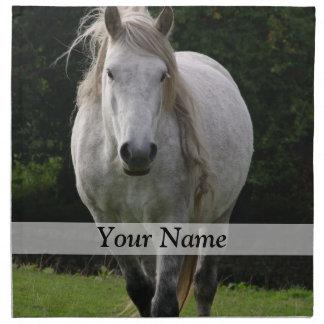 Cute pony photograph napkin