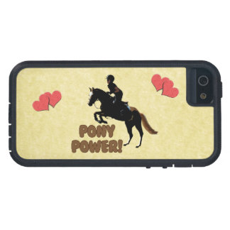 Cute Pony Power Equestrian iPhone 5 Cover