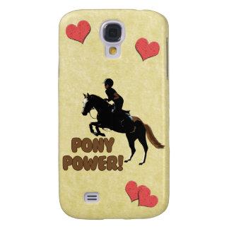Cute Pony Power Equestrian Samsung Galaxy S4 Covers