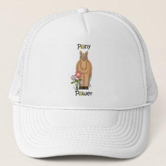 Cute Pony Power Horse Trucker Hat