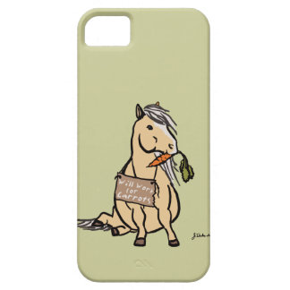 Cute Pony Will Work For Carrots iPhone 5 Covers