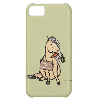 Cute Pony Will Work For Carrots iPhone 5C Cover