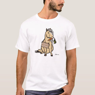 Cute Pony Will Work For Carrots T-Shirt