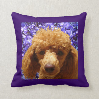 Cute Poodle Cushion