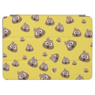 Cute Poop Emoji Pattern iPad Air Cover
