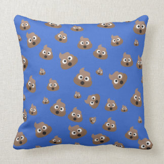 Poop Emoji Throw Pillow : Emoji Cushions - Emoji Scatter Cushions Zazzle.co.uk