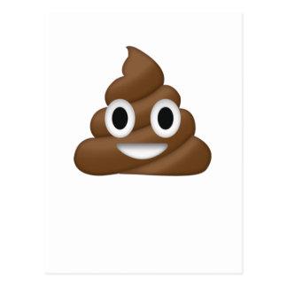 Cute Poop Emoji Postcard