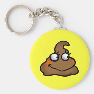 Cute poop key ring