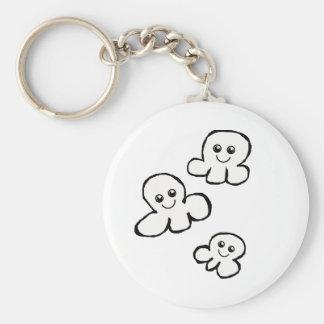 Cute Popcorn Keychain