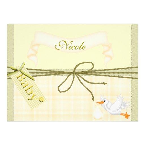 Cute & Popular BABY SHOWER Invitation