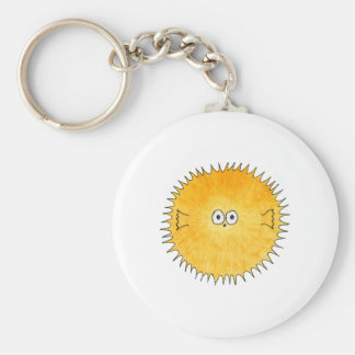 Cute Porcupine Fish. Key Ring