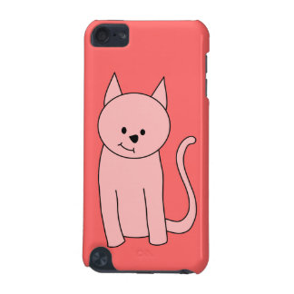 Cute Pretty Pink Cat iPod Touch 5G Case