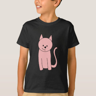 Cute Pretty Pink Cat T-Shirt
