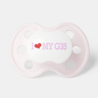"Cute Pretty Pink ""I love my G35"" Pink Dummy"