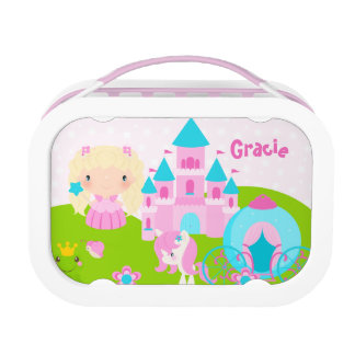 Cute Princess Personalized Lunch Box