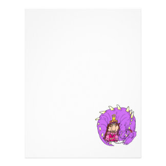 Cute Princess & Pet Dragon Flyer