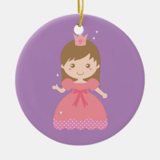 Cute Princess, Pink for Little Girls Christmas Ornament
