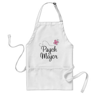 Cute Psych Major Gift Apron