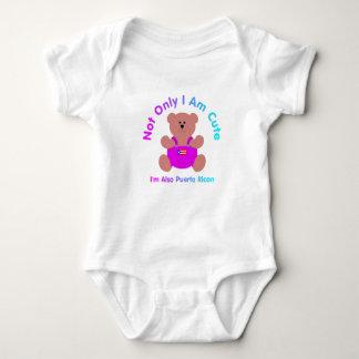 """""""Cute Puerto Rican"""" Baby Tshirts"""