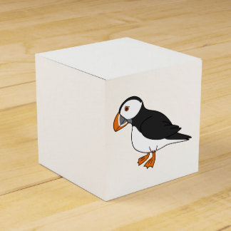 Cute Puffin Favour Box