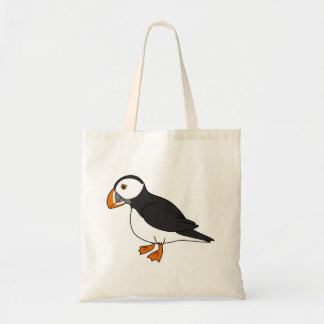 Cute Puffin Tote Bag