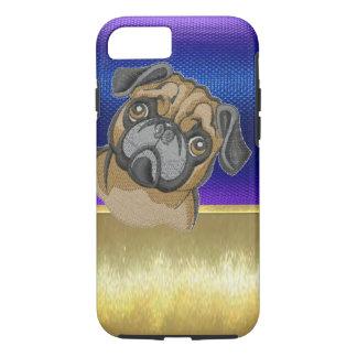 Cute Pug Dog Design iPhone 7 Case