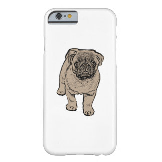 Cute Pug iPhone 6/6s, Barely There Phone Case
