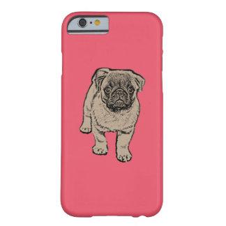 Cute Pug iPhone 6/6s Case - Red