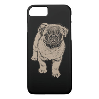 Cute Pug iPhone 7 Case