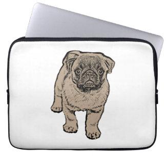 Cute Pug Laptop Sleeve 13 inch