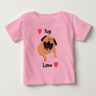 Cute Pug Love Dog Baby T-Shirt