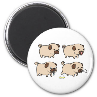 Cute Pug magnet