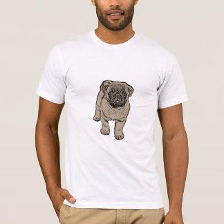 Cute Pug Men's Super Soft T-Shirt - White