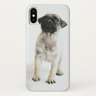 Cute Pug Puppy iPhone X Case