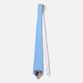 Cute Pug Tie