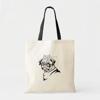 Cute Pug Tote Bag
