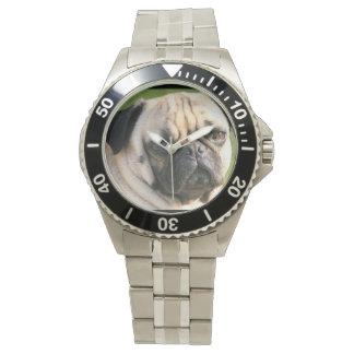 Cute Pug Watch