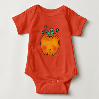 Cute Pumpkin Baby Bodysuit